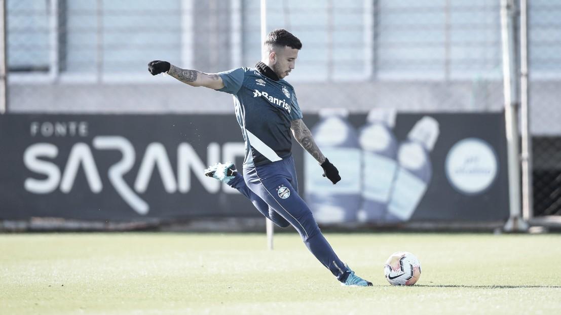 Ainda sem data para voltar ao Campeonato Gaúcho, Grêmio foca em treino de finalização