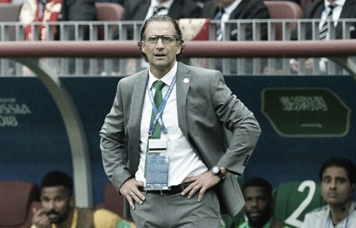 Pizzi lamenta goleada sofrida contra Rússia, mas foca na próxima partida da Arábia Saudita
