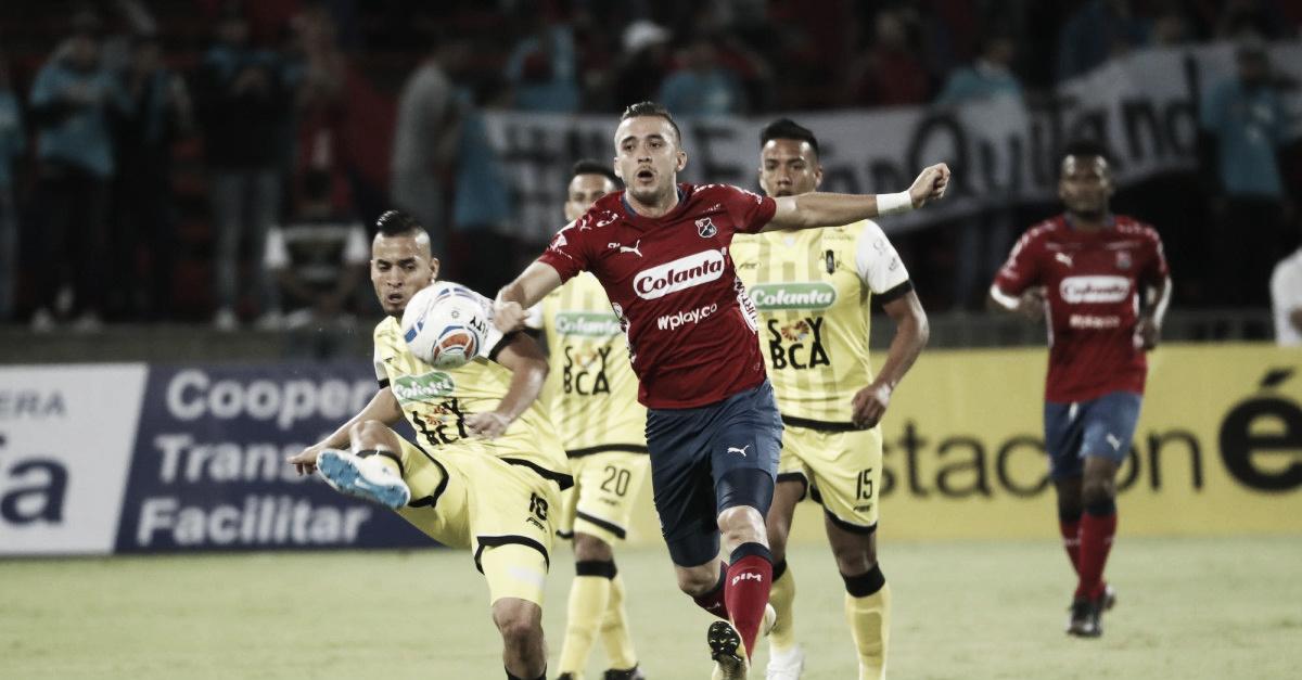 Independiente Medellín ajustó su carta victoria en línea derrotanto a Alianza Petrolera