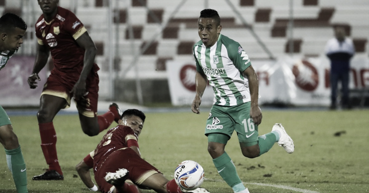 Sin mucho problema, Atlético Nacional le ganó a Rionegro y volvió al grupo de los ocho