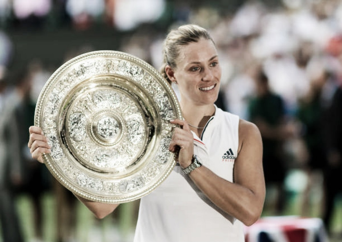 Perseverance pays off for Angelique Kerber again as she provides golden moment for German sport