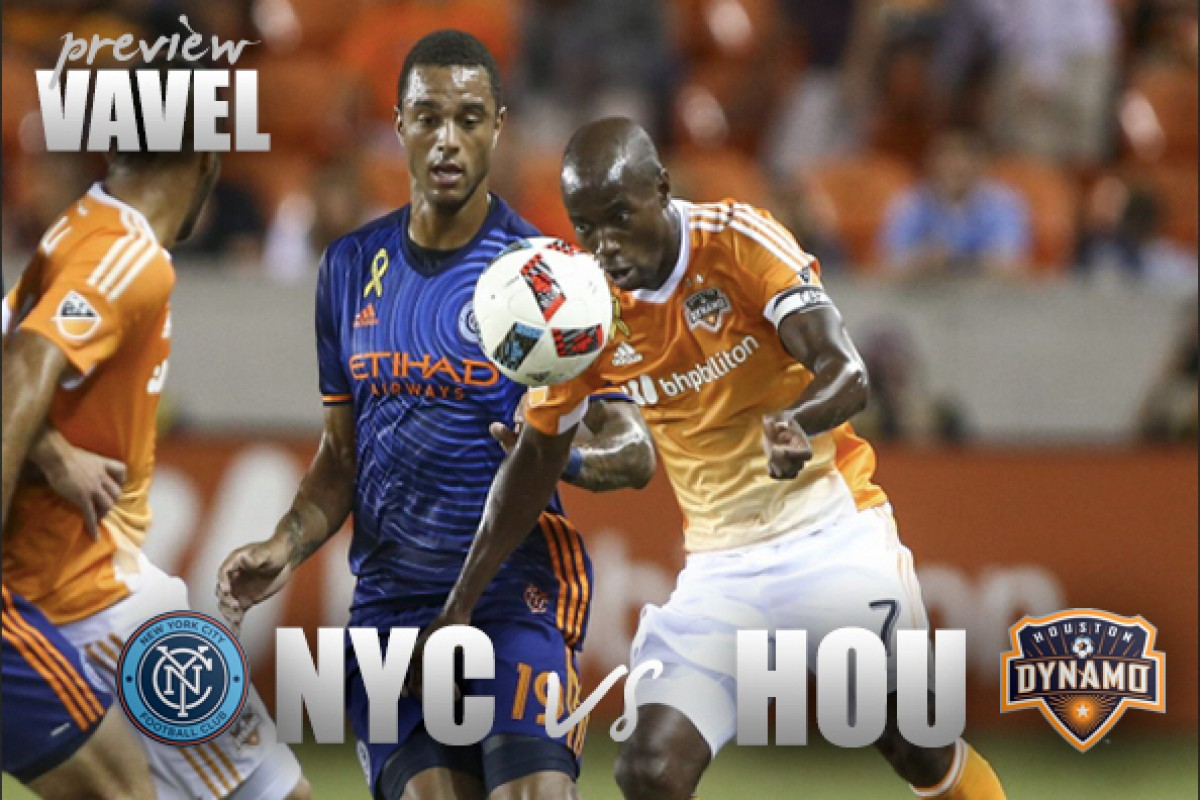 NYCFC head south for meeting with Dynamo