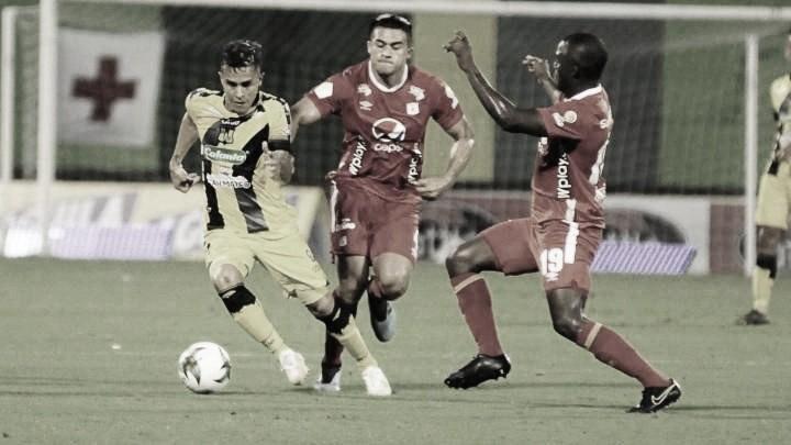 Datos de la victoria de América 0-1 ante Alianza Petrolera en Barrancabermeja