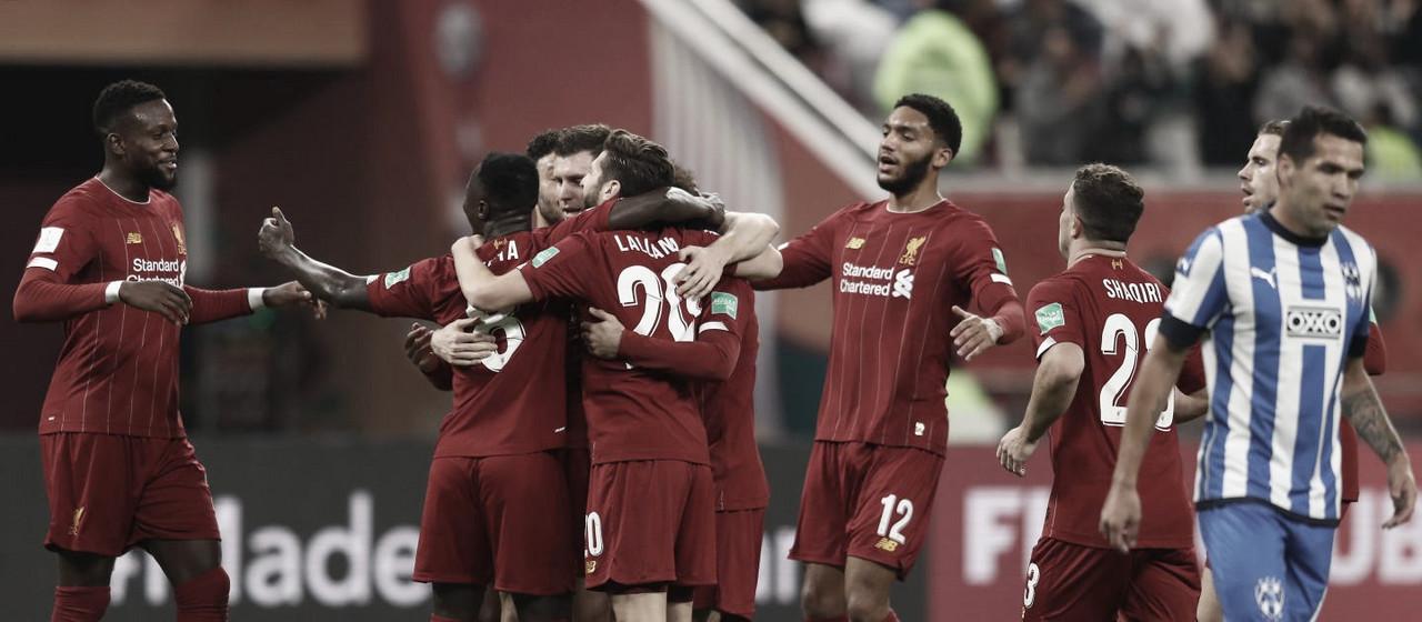 Mundial de Clubes FIFA Catar 2019: Liverpool segundo finalista