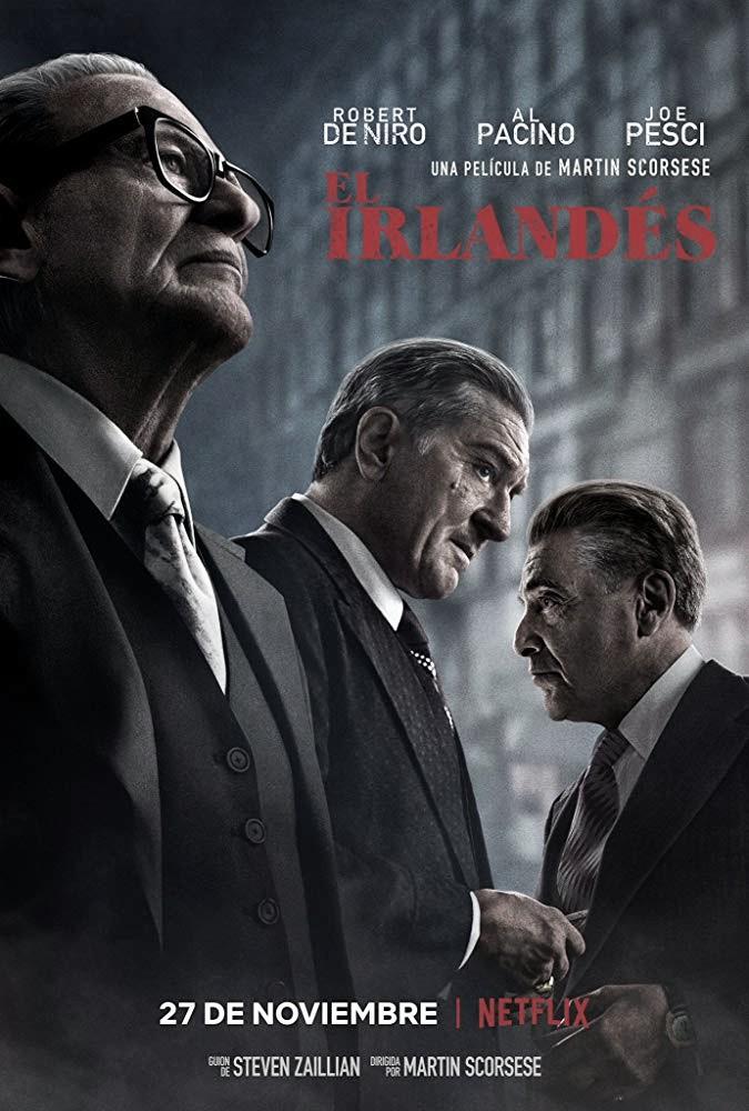 Nuevo tráiler de El Irlandés, la esperada nueva película de De Niro y Al Pacino con Scorsese