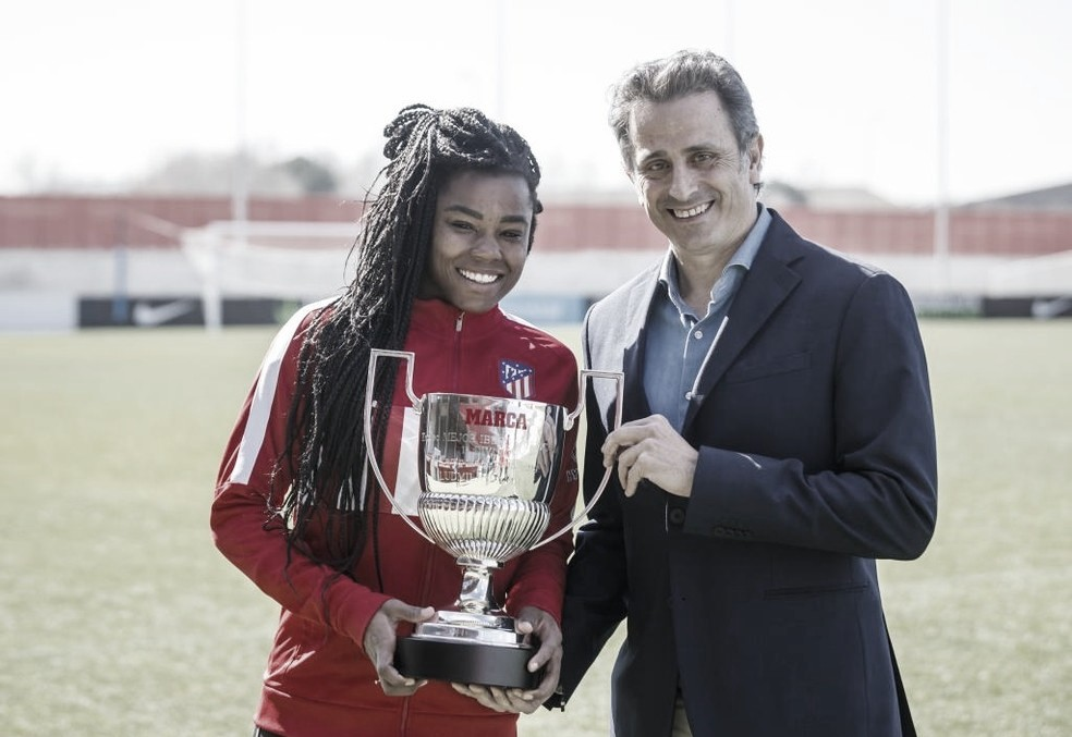 Ludmila é eleita como melhor jogadora Iberoamericana