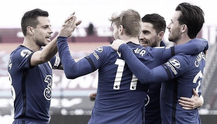 Com gol de Werner, Chelsea bate West Ham e volta a vencer na Premier League
