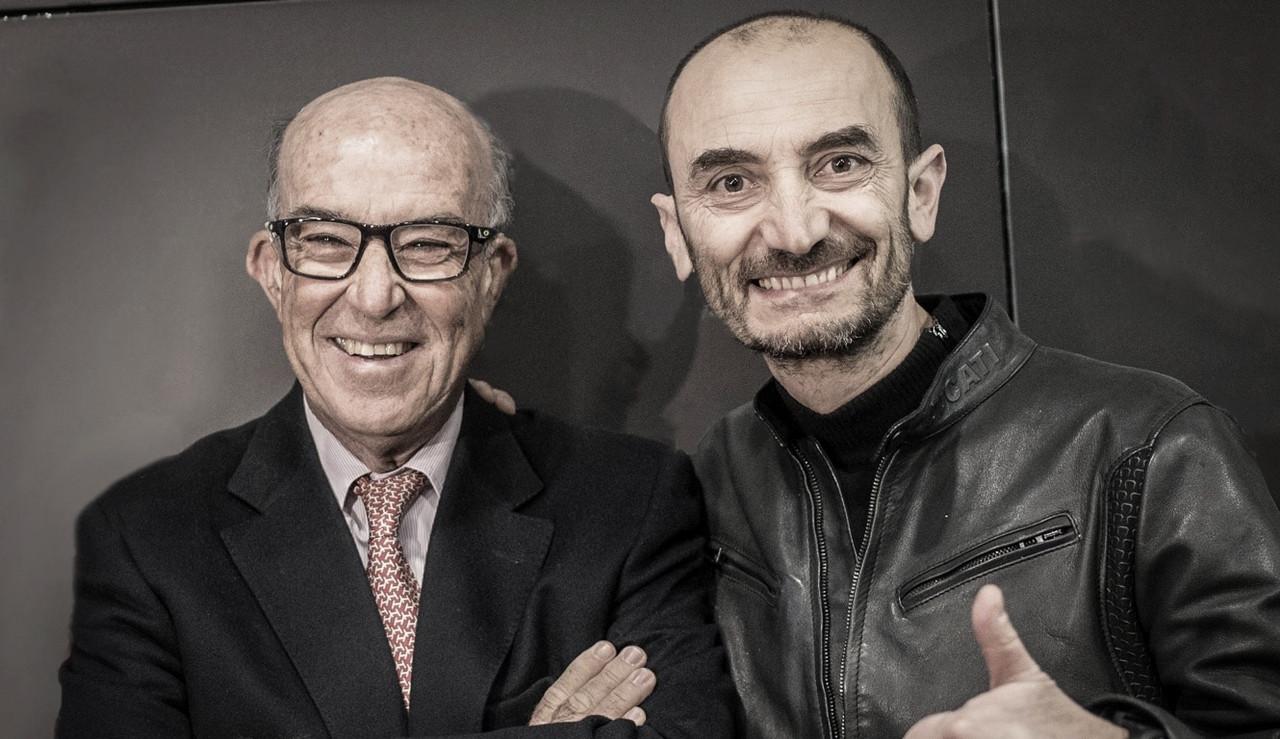 Carmelo Ezpeleta y Claudio Domenicali / Foto: Ducati