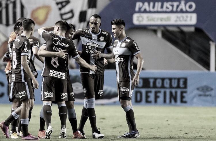 Com time misto, Corinthians bate Santos e volta a vencer no Campeonato Paulista