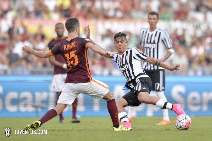Juventus Vs Roma (1-0) in Serie A 2015/16