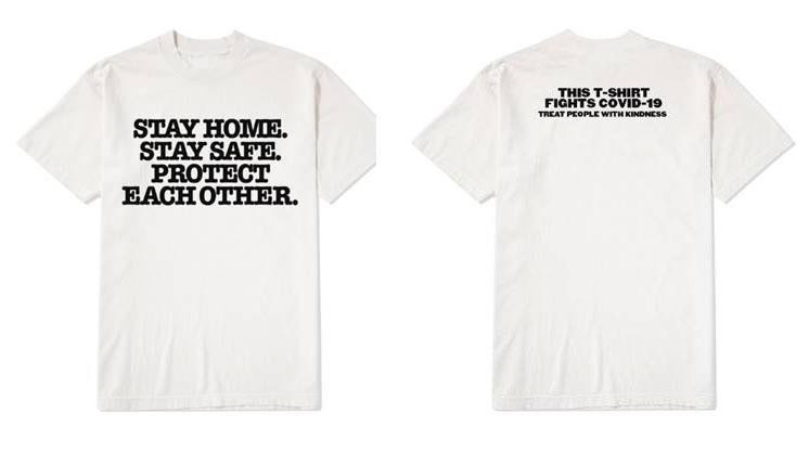 Harry Styles lanza una camiseta solidaria para colaborar con la OMS y la ONU