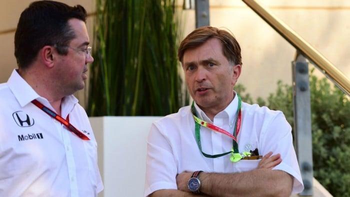 Jost Capito parts company with McLaren