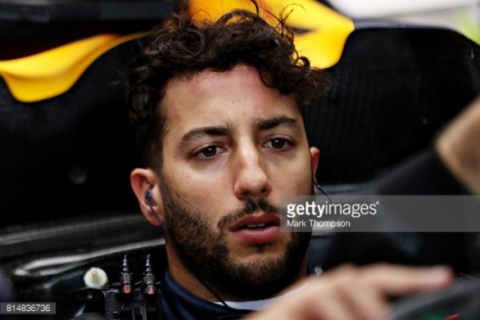British GP: Daniel Ricciardo hit with five place grid penalty