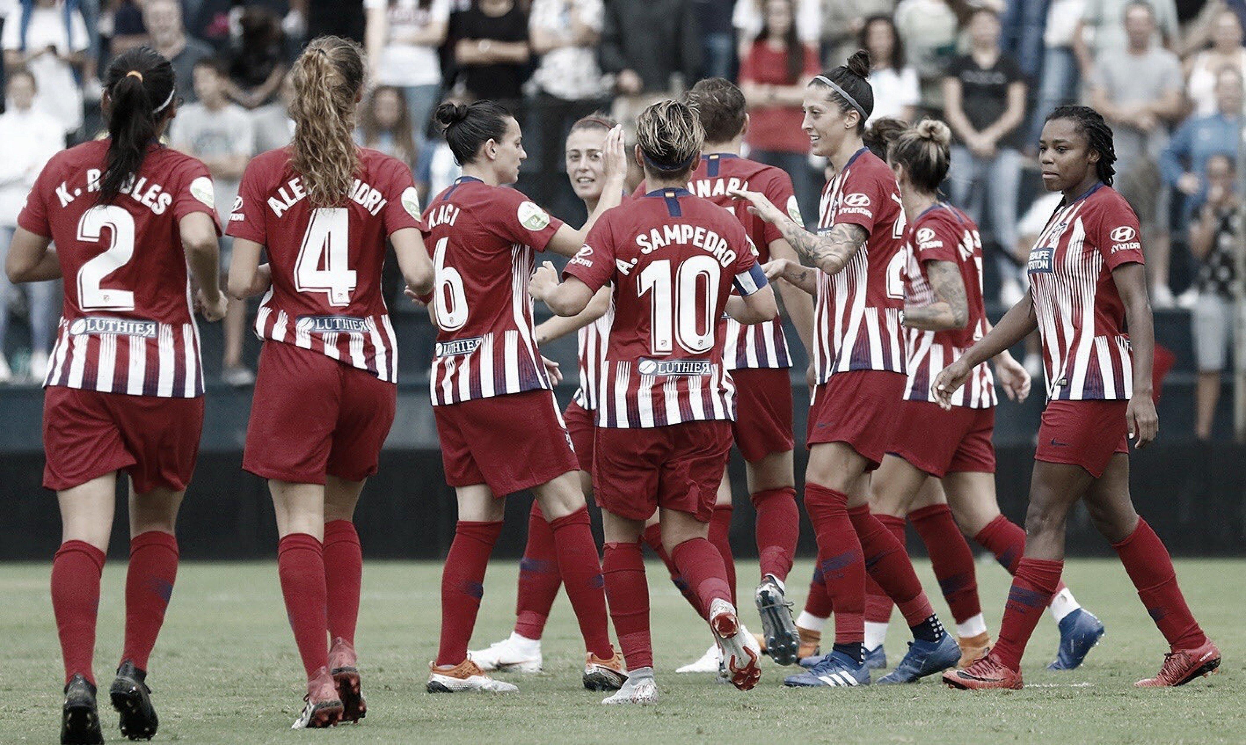 El Atlético Féminas comienza la defensa del título con mano firme