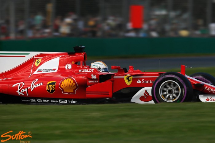 Australian GP: Vettel quickest in FP3 as Stroll brings out the red flag