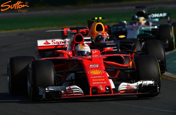 Australian GP: Vettel storms to Melbourne win