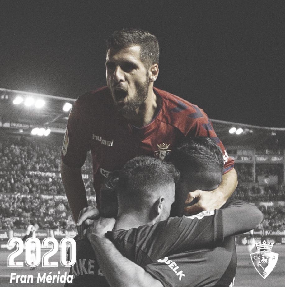 La confirmación de Fran Mérida en Pamplona