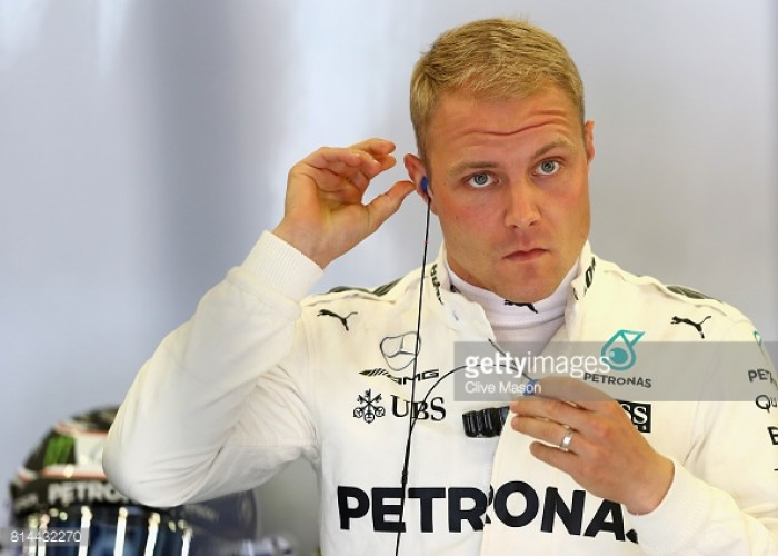 British GP: Valtteri Bottas to take five-place grid penalty for gearbox change