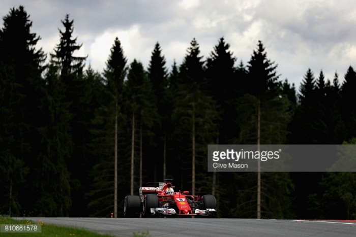 Austrian GP: Vettel on top ahead of Qualifying