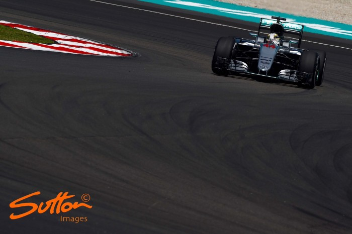 Malaysian GP: Hamilton fastest as rivals content with long run pace