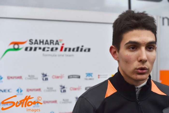 Esteban Ocon signed by Force India