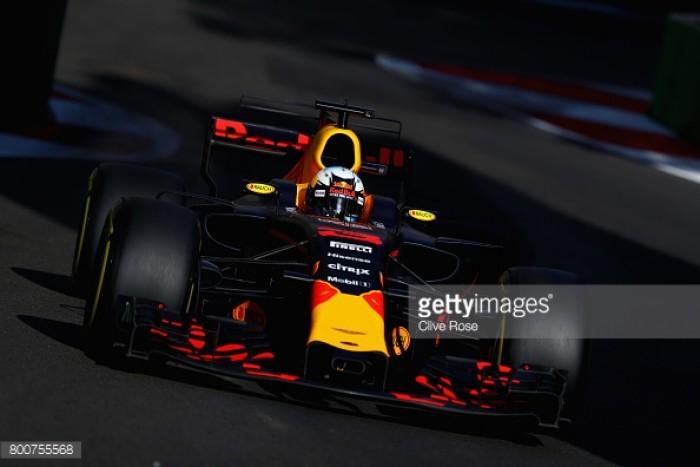 Azerbaijan GP: Ricciardo wins Baku thriller as Stroll claims maiden podium