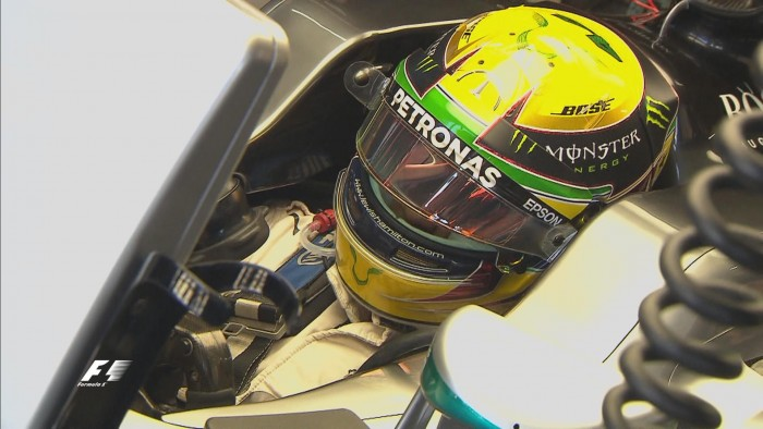 Brazilian GP: First blood to Hamilton as Verstappen splits the Mercs in FP1
