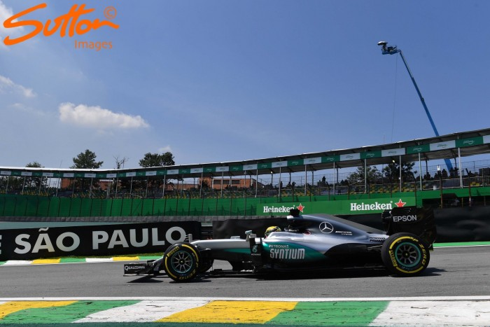 Brazilian GP: Hamilton fastest in FP2 as Mercedes stretch their legs