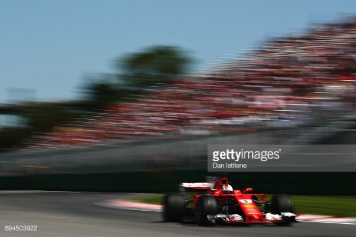 Canadian GP: Vettel puts Ferrari in top spot heading into Qualifying