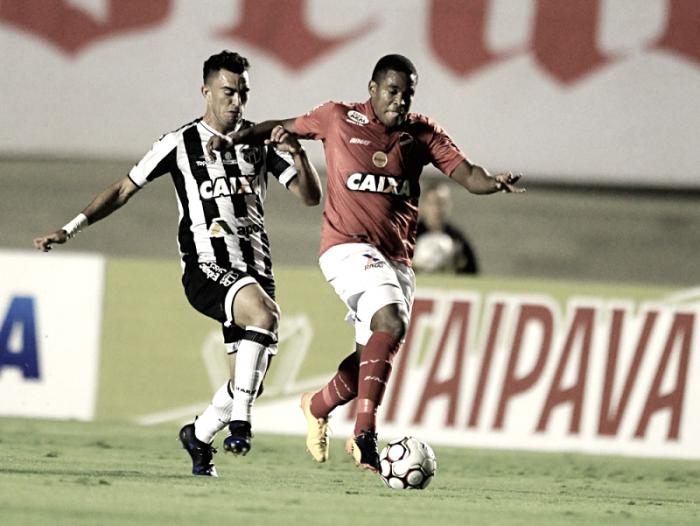 Ceará e Vila Nova se enfrentam em confronto direto pelo G-4 da Série B