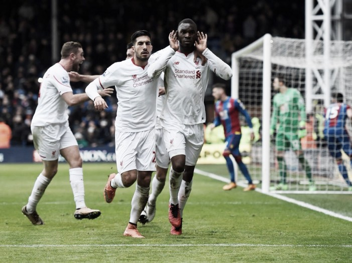 Crystal Palace 1-2 Liverpool: Late Benteke penalty sinks Palace as horrible run continues