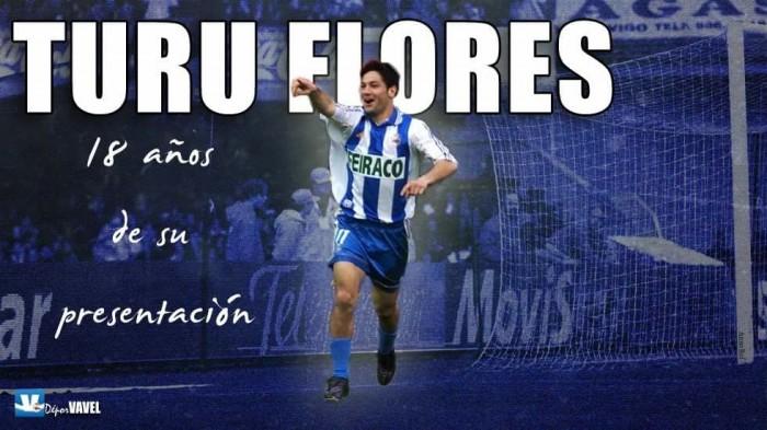Turu Flores aterriza en A Coruña hace 18 años