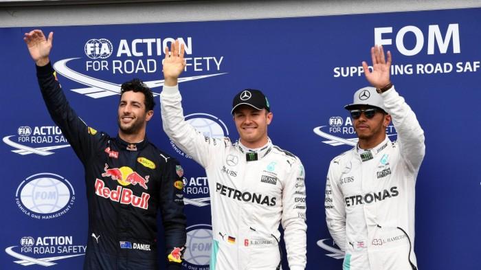 "Hockenheim, Rosberg: ""Gran giro"", Hamilton: ""Guardo solo chi mi sta davanti"""