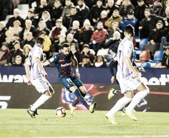 Resumen Real Valladolid vs Levante (0-0)
