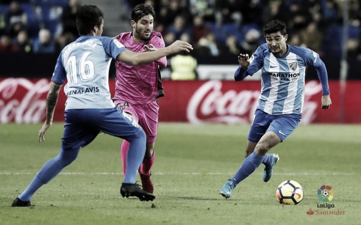"""El Levante puede """"devolvérsela"""" al Málaga"""