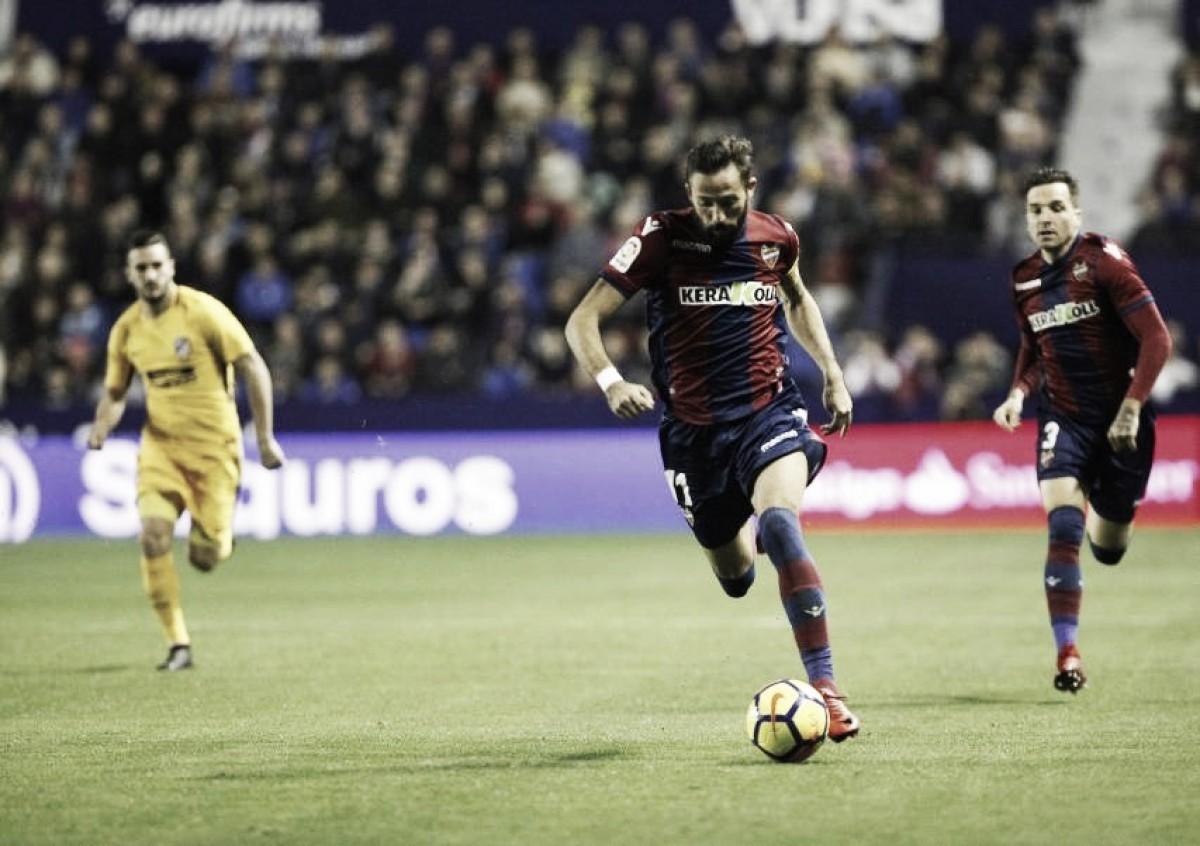 Previa Atlético de Madrid - Levante UD: a seguir con la buena racha en un campo complicado