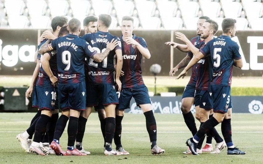 Resumen Levante vs Celta (1-1)