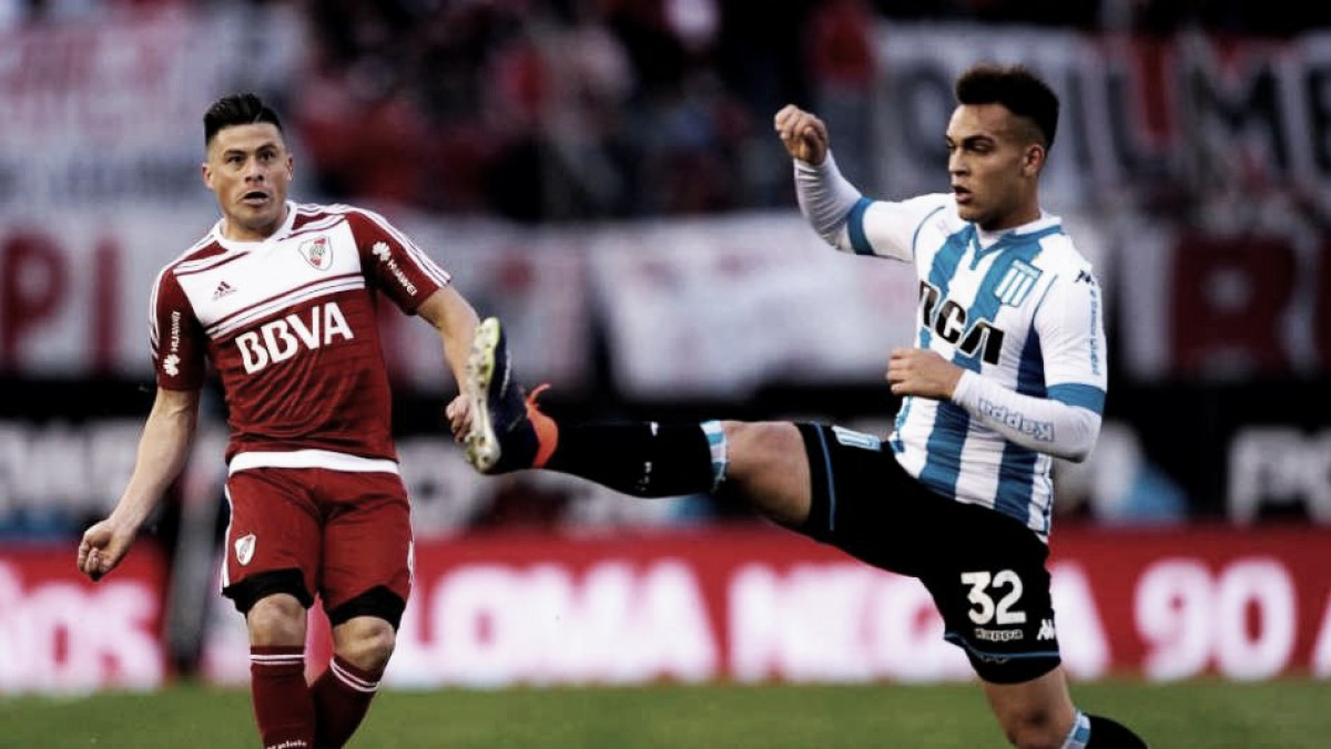 Previa Racing - River Plate: Las copas son la obsesión