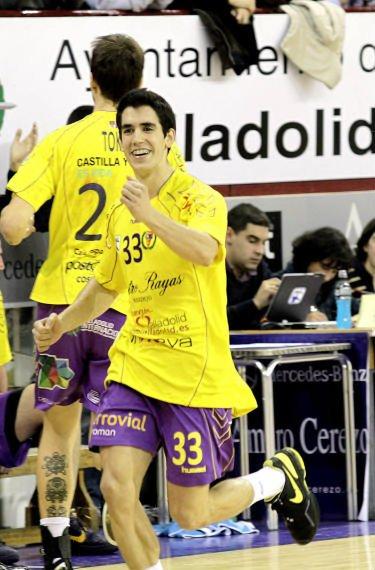 """Félix García: """"Mi meta sería poder permanecer y jugar a ese nivel en el BM Valladolid"""""""