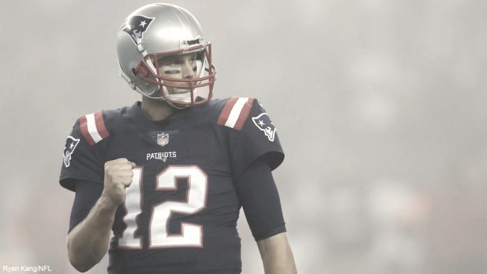 Los Patriots les pasan por encima y hunden más a los Falcons