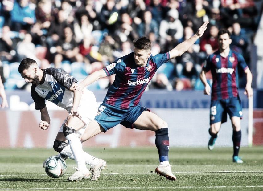 Resumen Levante vs Alavés (1-1)