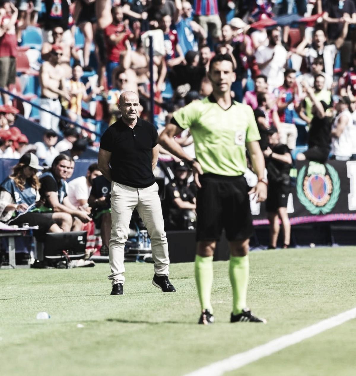 """Paco López: """"Nosotros somos un equipo atrevido, nunca vamos a especular con el resultado"""""""