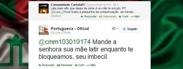 Marcos Teixeira, assessor de imprensa da Portuguesa, é demitido após discussão no Twitter