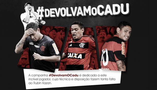 Torcida do Flamengo cria site pedindo a devolução do meia Carlos Eduardo