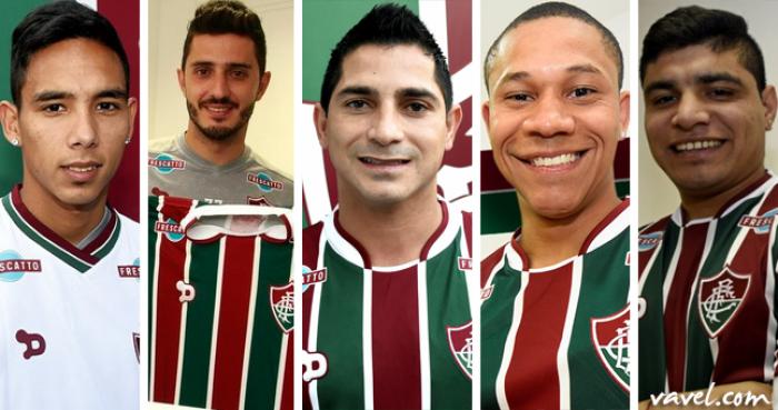 Apresentação dos reforços do Fluminense