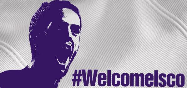 Isco é o novo jogador do Real Madrid