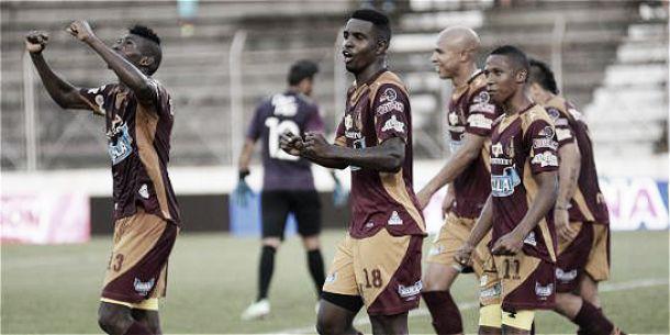 Tolima es líder del grupo H en la Copa Águila