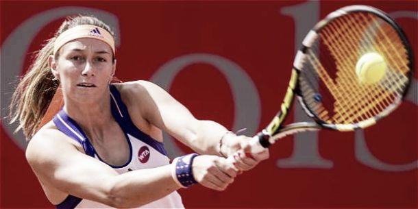 Mariana Duque avanzó a octavos en el WTA de Bogotá