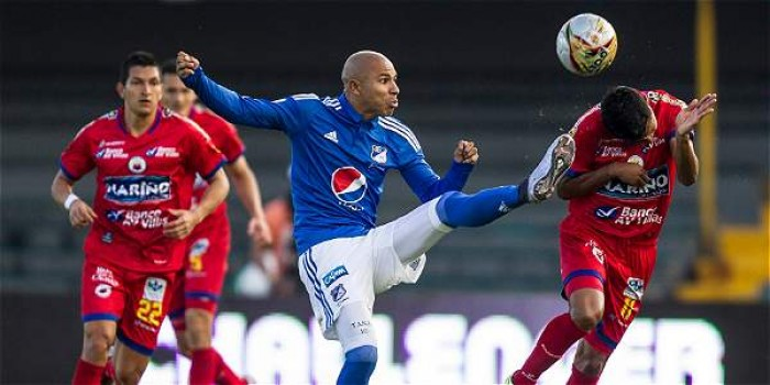 Puntuaciones de Deportivo Pasto ante Millonarios