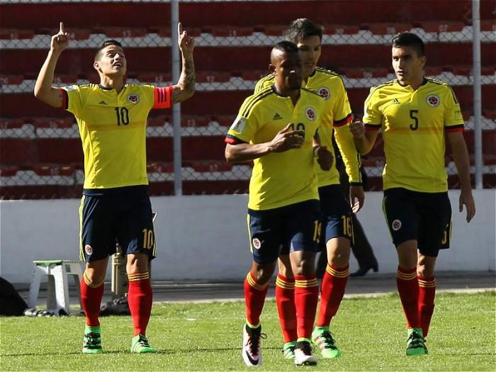 Una buona Colombia supera 2-3 la Bolivia e si rilancia in vista di Russia 2018